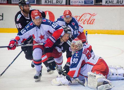 «Трактор» прервал 4-матчевую победную серию ЦСКА