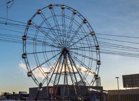 Новое колесо обозрения вцентре Челябинска откроют 2января