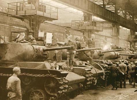 Впамять огероях Танкограда