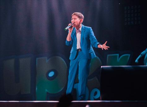Напроекте «Голос. Дети» споёт 12-летний Данил изТроицка