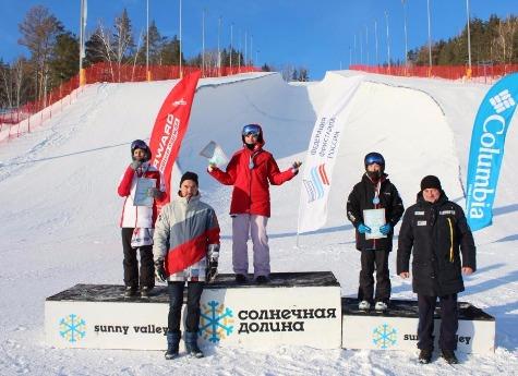 Южноуральская спортсменка Елизавета Чеснокова стала первой вКубке Российской Федерации пофристайлу