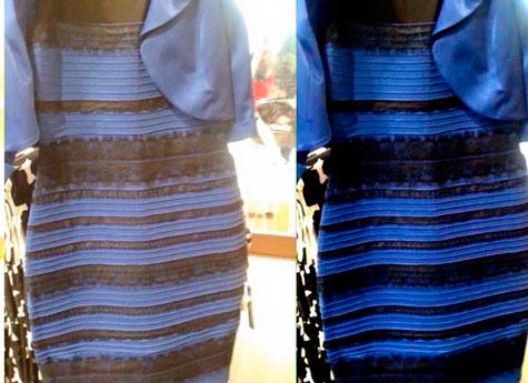 платье цвета  какого зрения обман