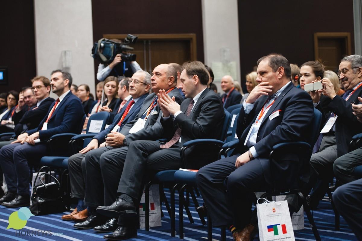 Борис Дубровский открыл российско-итальянский форум сотрудничества